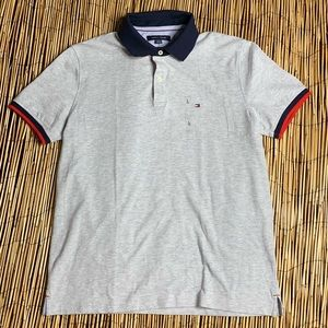 TOMMY HILFIGER POLO SHIRT SZ L
